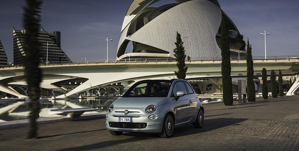 Fiat Eiropā laiž klajā jaunu hibrīdauto